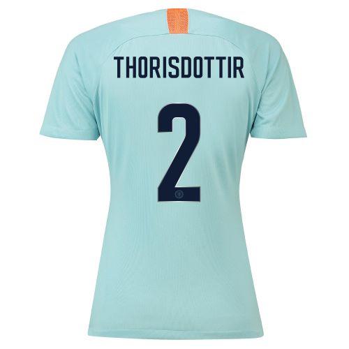 Chelsea Third Cup Stadium Shirt 2018-19 - Womens with Thorisdottir 2 printing