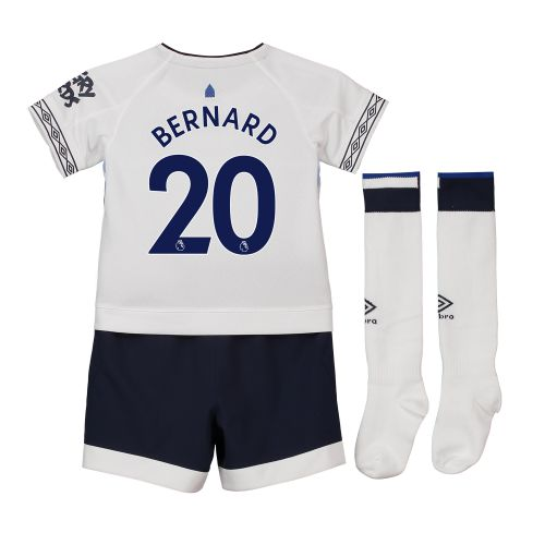 Everton Third Infant Kit 2018-19 with Bernard 20 printing