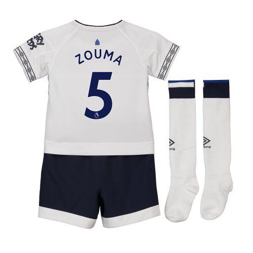 Everton Third Infant Kit 2018-19 with Zouma 5 printing