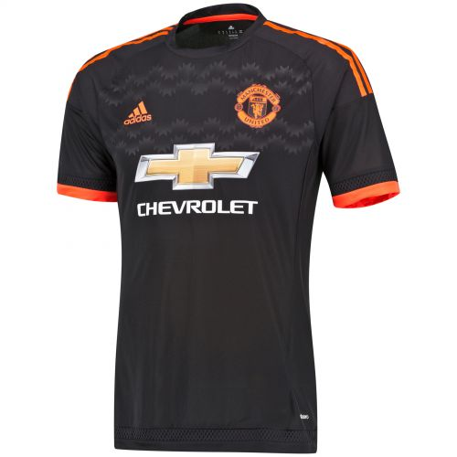 Manchester United Third Adi Zero Shirt 2015/16 Black