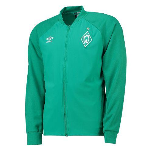 Werder Bremen Walkout Jacket - Green