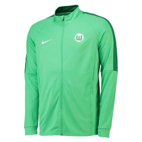 VfL Wolfsburg Training Presentation Jacket - Green