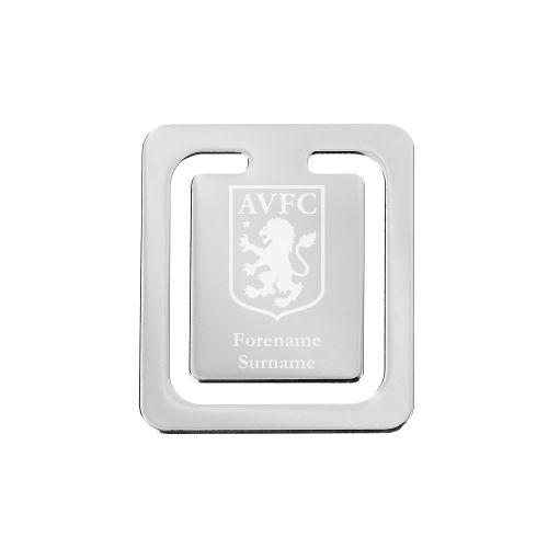 Aston Villa Personalised Crest Bookmark