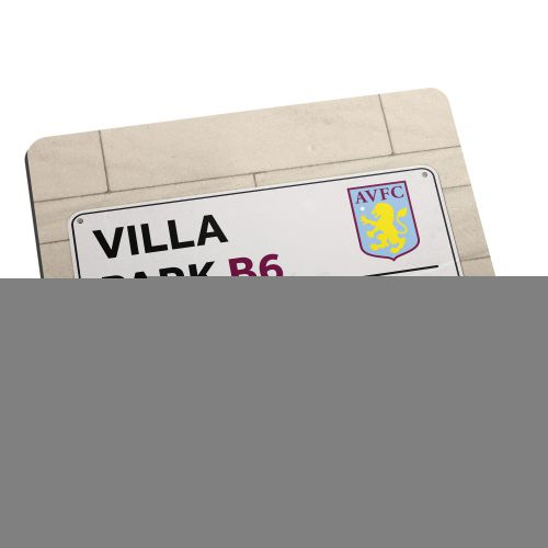 Aston Villa Personalised Street Sign Mouse Mat