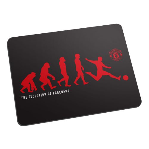 Manchester United Personalised Evolution Mouse Mat