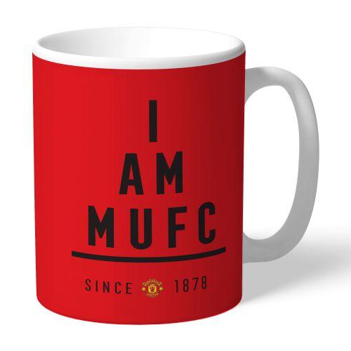 Manchester United Personalised I Am MUFC Mug