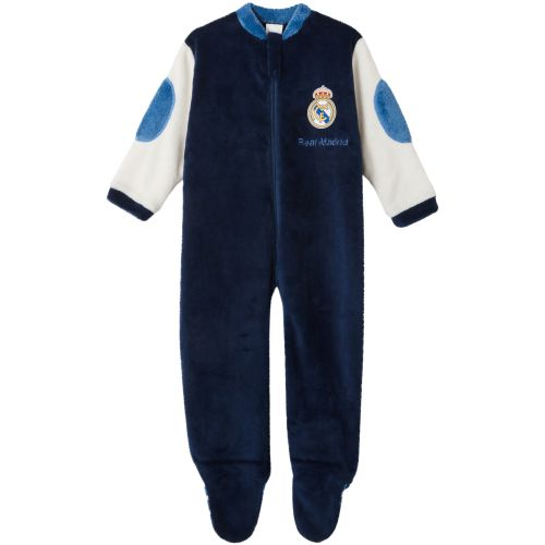 Real Madrid Fleece Onesie - Navy - Child