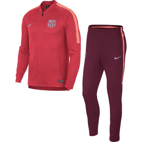 Barcelona Squad Tracksuit - Pink