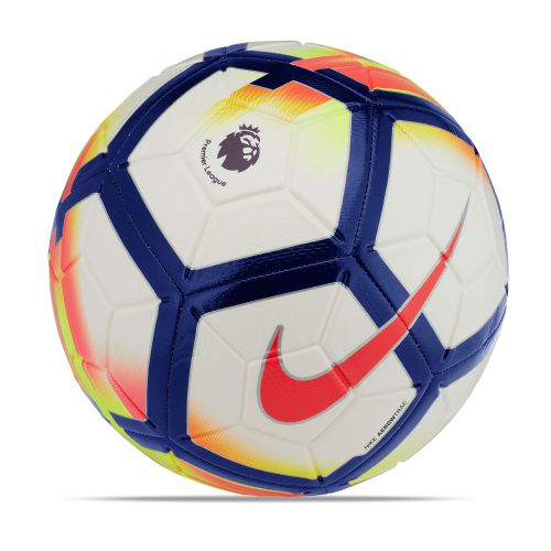 Nike Premier League Strike Football - White/Crimson/Deep Royal/Crimson