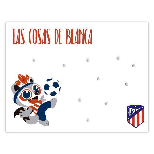 Atlético de Madrid Baby Indi Magnetic Panel - 50 x 30cm
