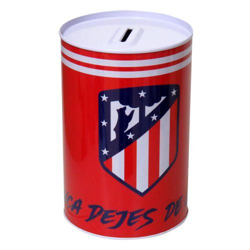 Atlético de Madrid Tin Money Box - 15 x 10 x 10cm