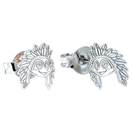 Atlético de Madrid Indi Earrings - 925 Sterling Silver