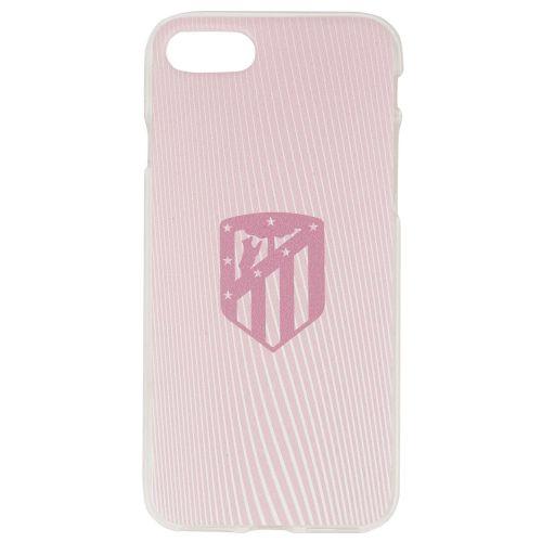 Atlético de Madrid iPhone 7/8 Crest Phone Case - Pink