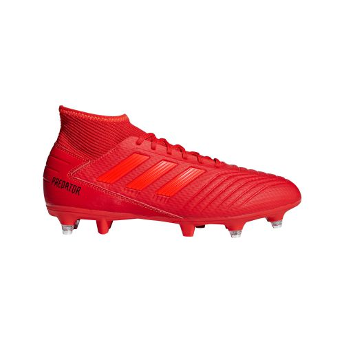 adidas Predator 19.3 Soft Ground Football Boots - Red