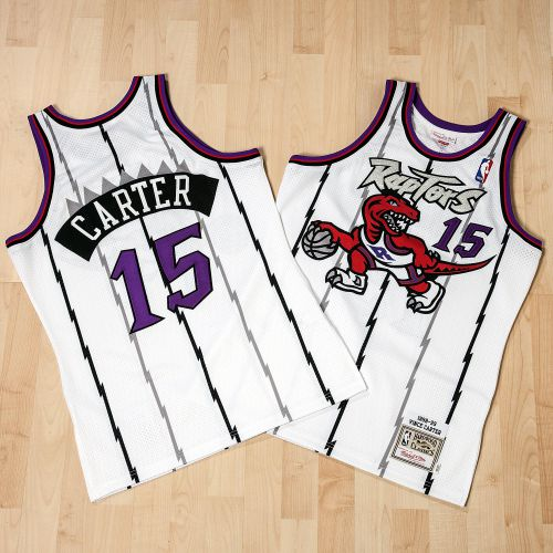 Toronto Raptors Vince Carter 1998-99 Road Authentic Jersey By Mitchell & Ness