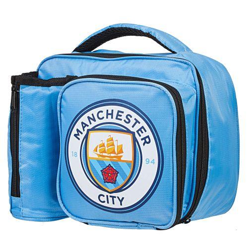 Manchester City Crest Lunch Bag with Bottle Holder
