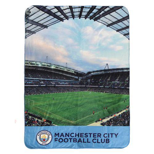 Manchester City Digital Sherpa Fleece Blanket