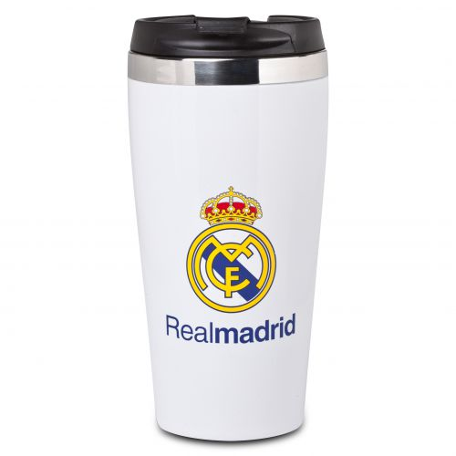 Real Madrid Crest Travel Mug