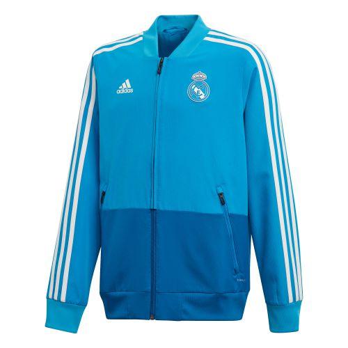 Real Madrid Training Presentation Jacket - Kids - Blue