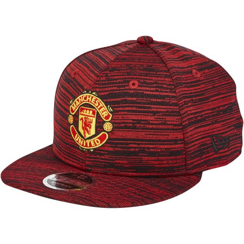 Manchester United New Era 9FIFTY Engineered Snapback Cap - Scarlet - Adult