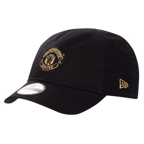 Manchester United New Era 9FORTY Cap - Navy/Gold - Infant