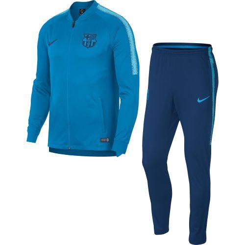 Barcelona Squad Knit Tracksuit - Blue