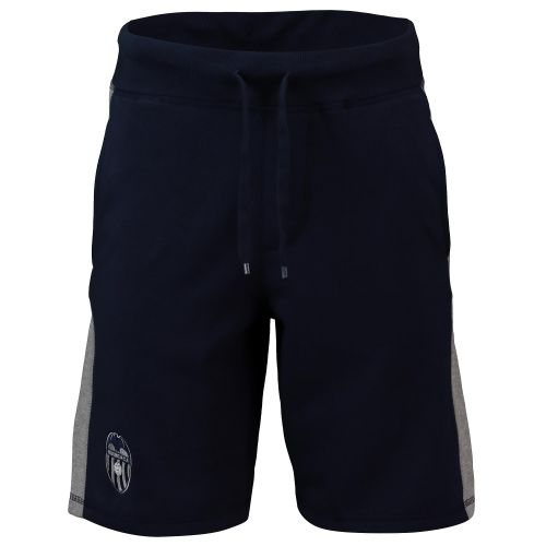Valencia CF Embroidered Crest Shorts - Navy - Mens
