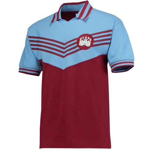 West Ham Utd 1976 Shirt - Claret/Sky