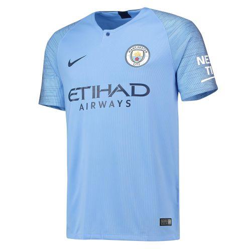 Manchester City Home Stadium Shirt 2018-19 with Mangala 15 printing