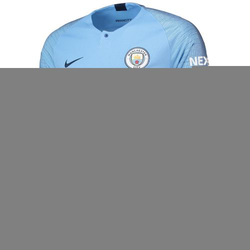 Manchester City Home Stadium Shirt 2018-19 - Long Sleeve with De Bruyne 17 printing