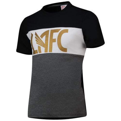 Los Angeles FC Cut And Sew T-Shirt - Black - Mens