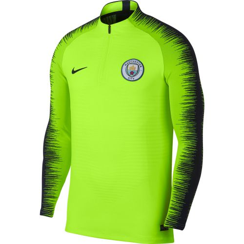 Manchester City Strike Vaporknit Drill Top - Yellow