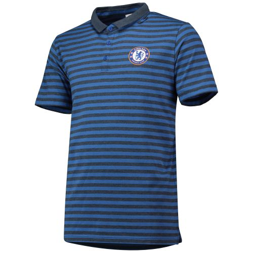 Chelsea Striped Polo Shirt - Blue/Navy - Mens