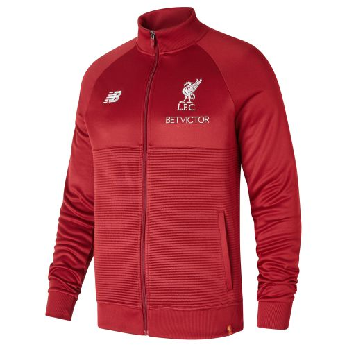Liverpool Elite Training Walk Out Jacket - Red