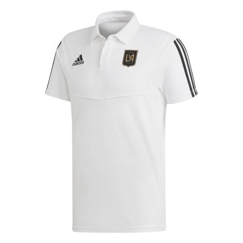 Los Angeles FC Coaches Polo - White