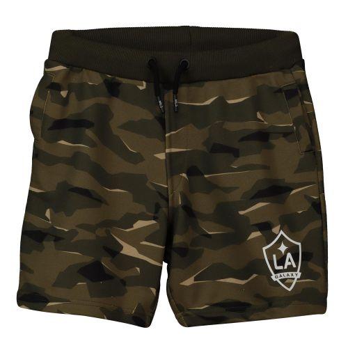 LA Galaxy Camo Sweat Shorts - Khaki - Kids