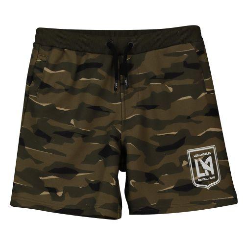 Los Angeles FC Camo Sweat Shorts - Khaki - Kids