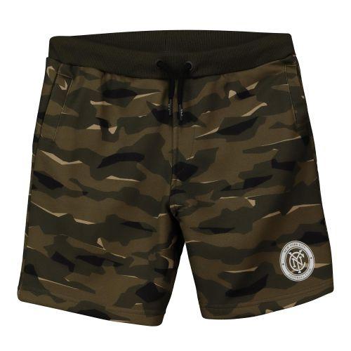 New York City FC Camo Sweat Shorts - Khaki - Kids