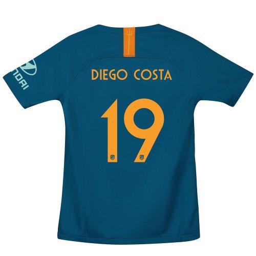 Atlético de Madrid Cup Third La Liga Stadium Shirt 2018-19 - Kids with Diego Costa 19 printing