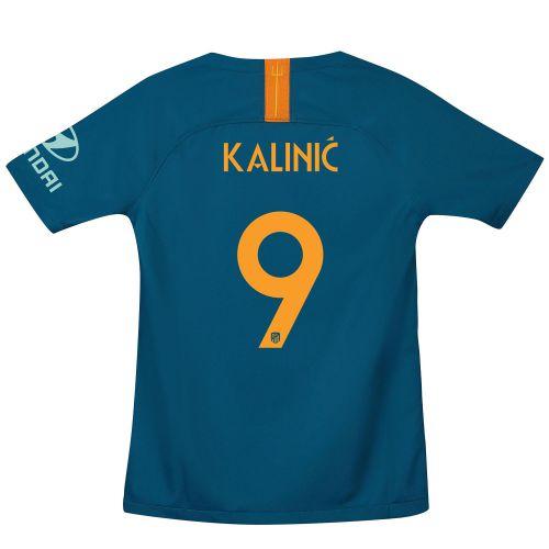 Atlético de Madrid Cup Third La Liga Stadium Shirt 2018-19 - Kids with Kalinic 9 printing