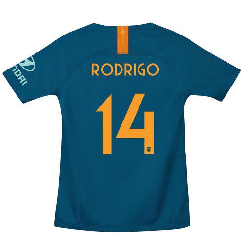 Atlético de Madrid Cup Third La Liga Stadium Shirt 2018-19 - Kids with Rodrigo 14 printing