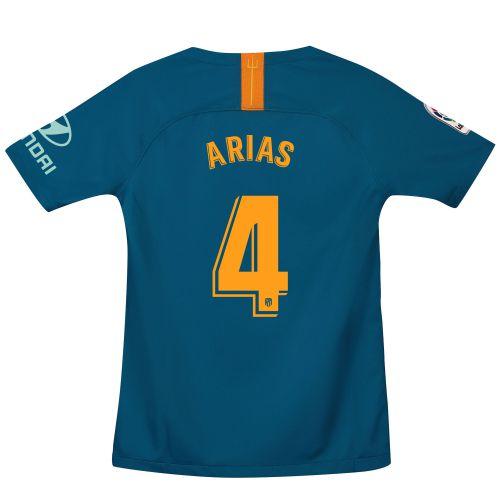 Atlético de Madrid Third Stadium Shirt 2018-19 - Kids with Arias 4 printing