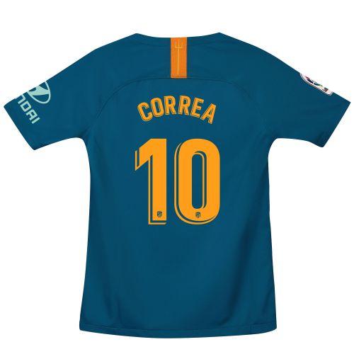 Atlético de Madrid Third Stadium Shirt 2018-19 - Kids with Correa 10 printing