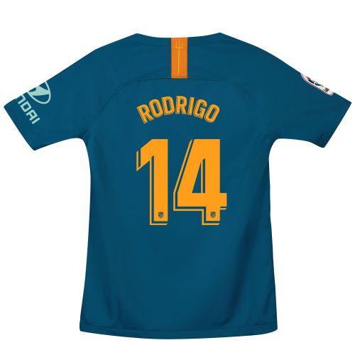 Atlético de Madrid Third Stadium Shirt 2018-19 - Kids with Rodrigo 14 printing