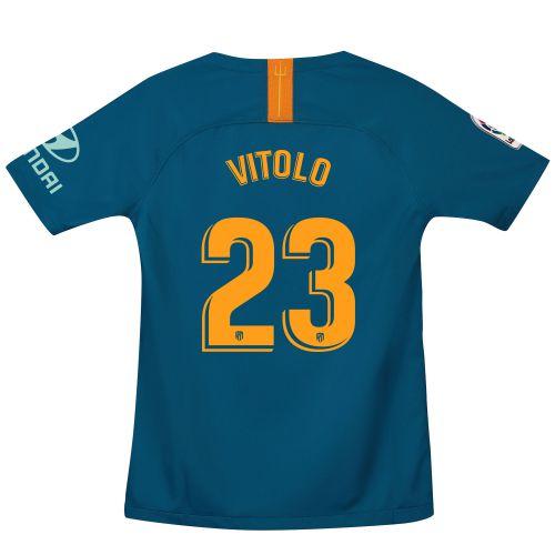 Atlético de Madrid Third Stadium Shirt 2018-19 - Kids with Vitolo 23 printing