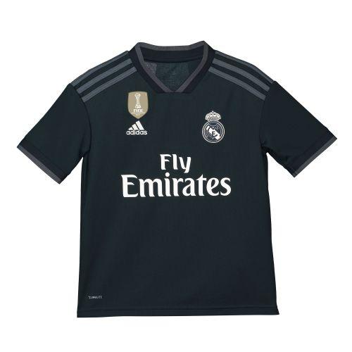 Real Madrid Away Shirt 2018-19 - Kids with Casemiro 14 printing