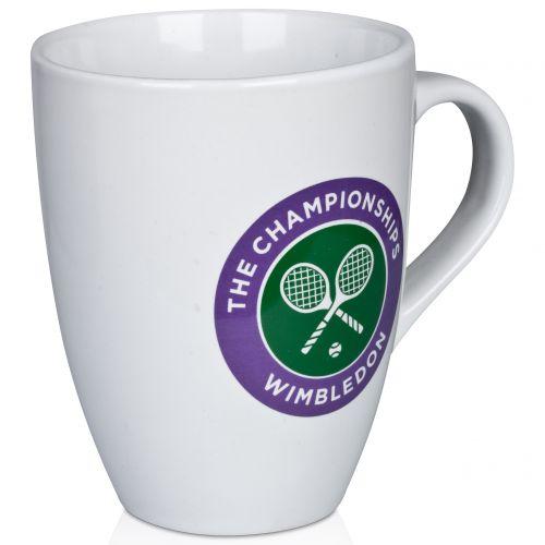 Wimbledon Crossed Rackets Logo Mug