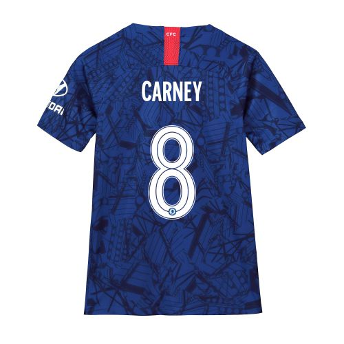 Chelsea Home Cup Stadium Shirt 2019-20 - Kids with Carney 8 printing