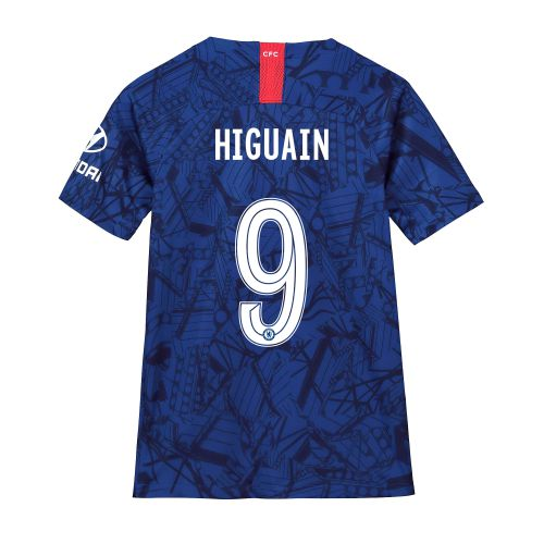Chelsea Home Cup Stadium Shirt 2019-20 - Kids with Higuain 9 printing