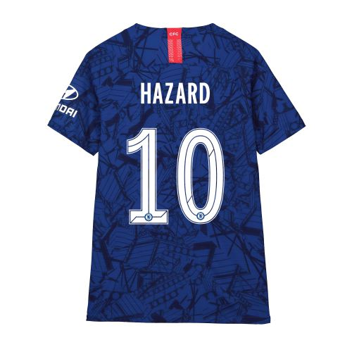 Chelsea Home Cup Vapor Match Shirt 2019-20 - Kids with Hazard 10 printing